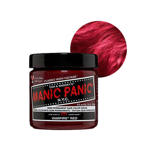 punane juuksevärv