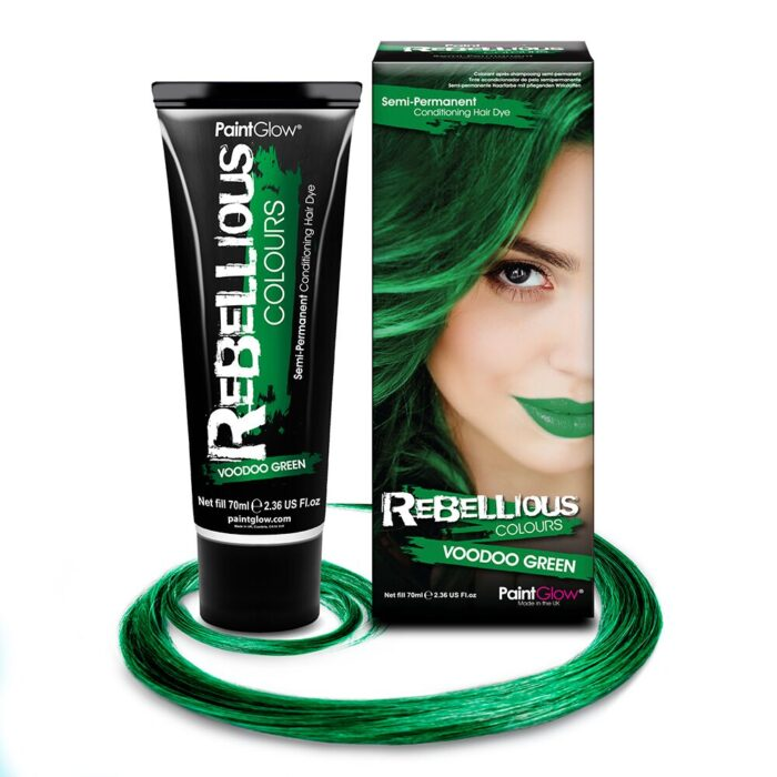 särav roheline juuksevärv