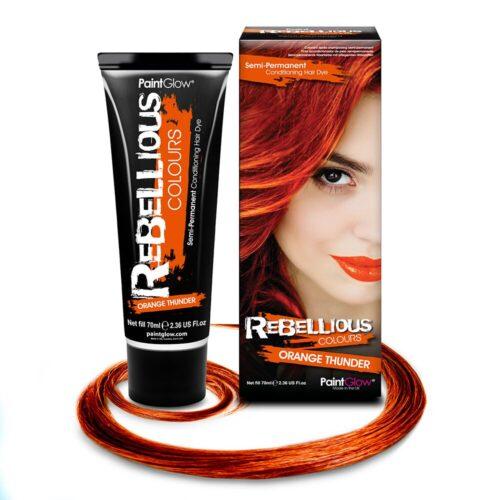 oranz juuksevärv