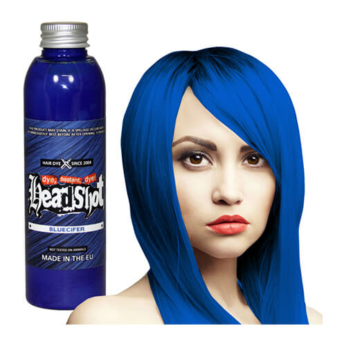 sügav sinine juuksevärv