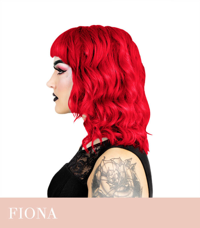 oranzikas-punane juuksevärv