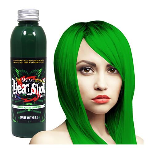 hele roheline juuksevärv