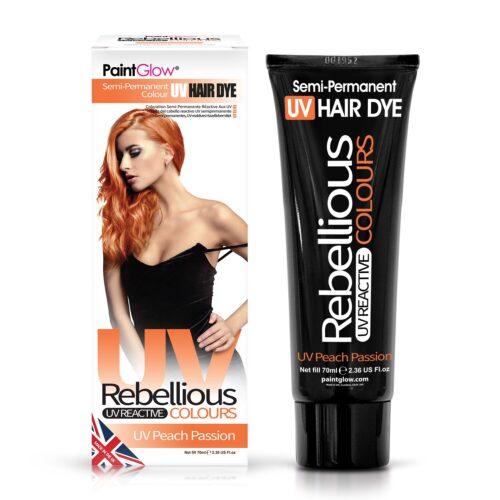 hele oranz juuksevärv