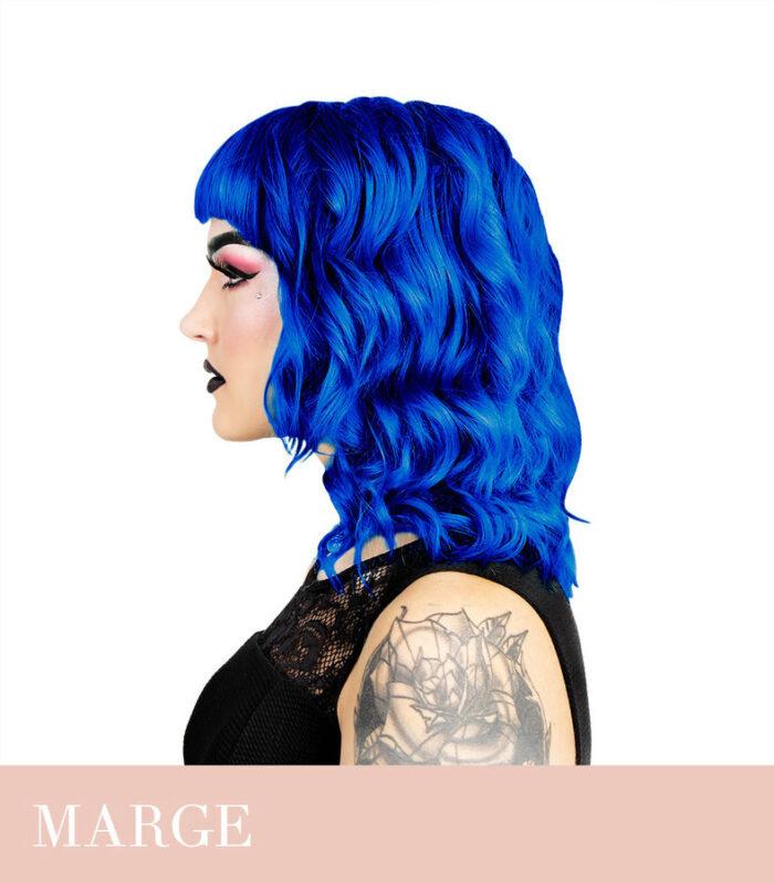 sinine juuksevärv