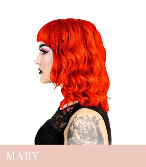 ergas oranz juuksevärv