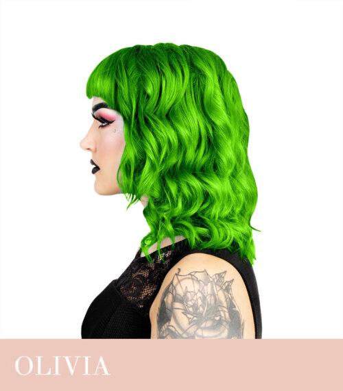 ergas roheline juuksevärv