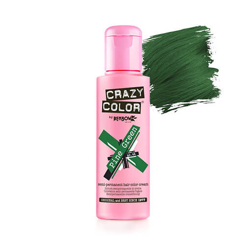 tume roheline juuksevärv