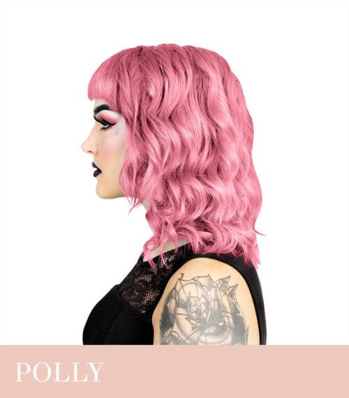 heleroosa juuksevärv