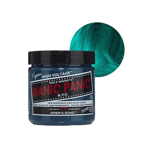 sinakas roheline juuksevärv