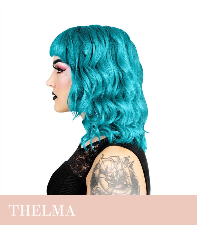 türkiis juuksevärv