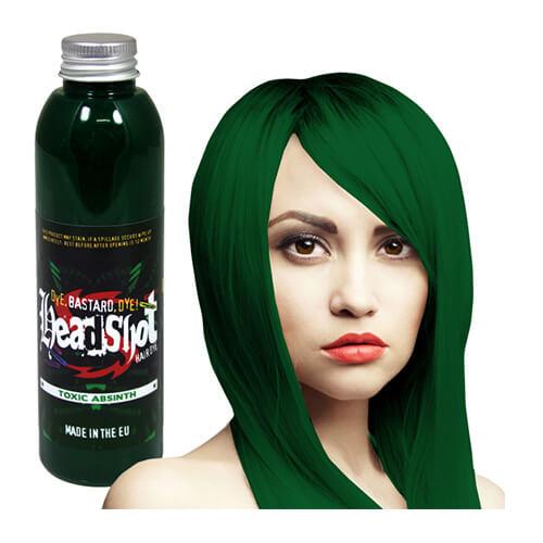 roheline juuksevärv
