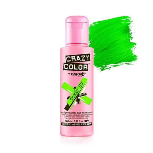 neoon roheline juuksevärv