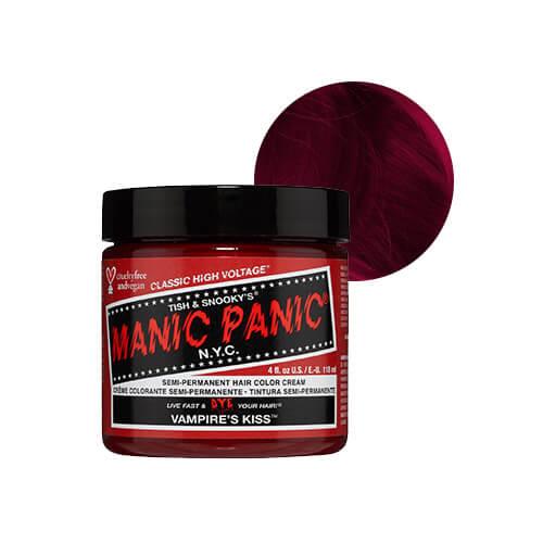 tume punane juuksevärv