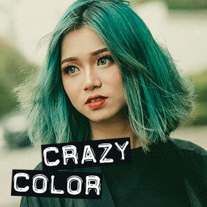 Crazy colors juuksevärvid