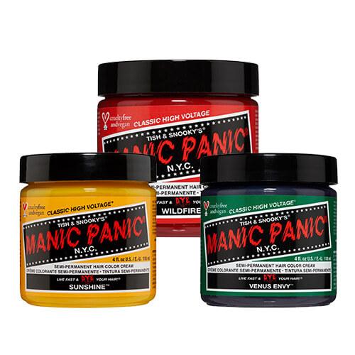 Manic Panic Värvid